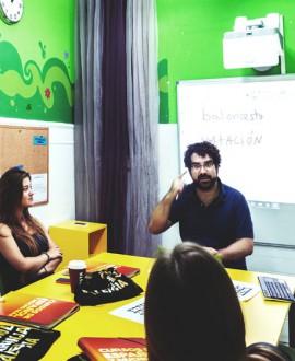 Taller de pronunciación + taller de gestualidad 10 lecciones/ semana