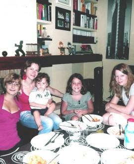 Familia pensión completa doble
